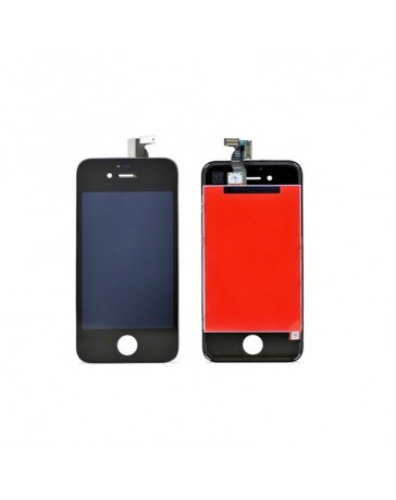 LCD DISPLAY + TOUCH SCREEN VETRO IPHONE 4S NERO