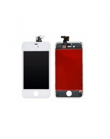 LCD DISPLAY + TOUCH SCREEN VETRO IPHONE 4S BIANCO