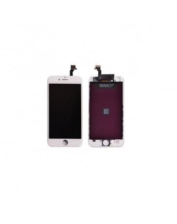 LCD DISPLAY + TOUCH SCREEN VETRO IPHONE 6S PLUS BIANCO MIC